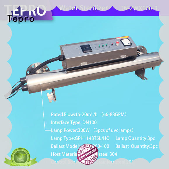 Tepro uv water filtration systems for home supplier for reptiles