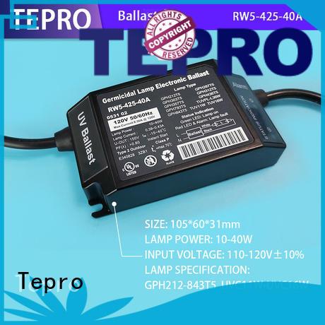 Tepro bactericidal ultraviolet light water purifier design for aquarium