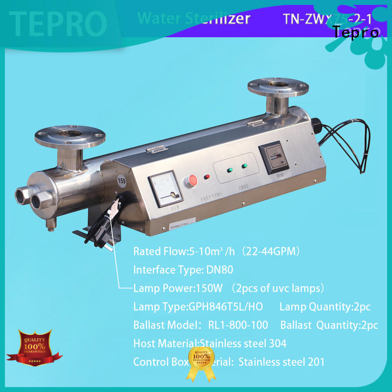 Tepro 1000l germicidal uv light supplier for fish tank