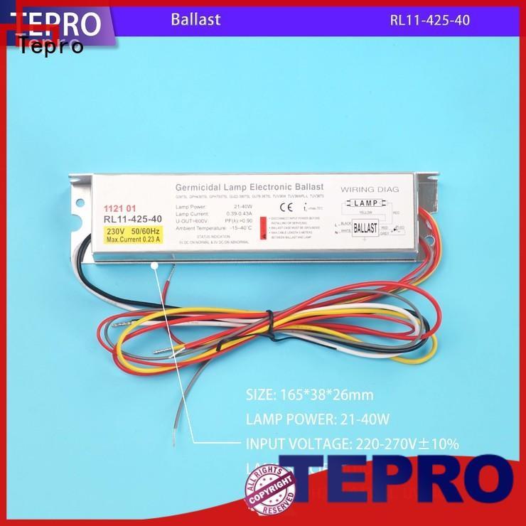 Tepro h shape uv light sterilizer customized for fish tank