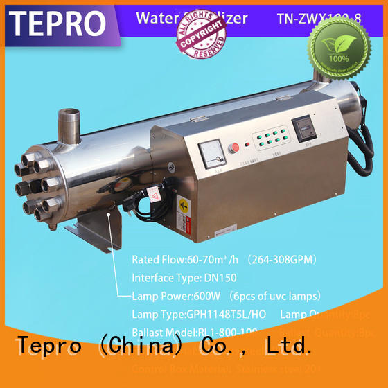 professional whole house uv water filter factory for pools