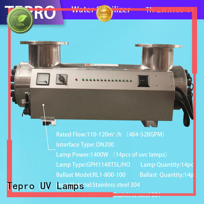 Tepro ultraviolet light for water factory for reptiles