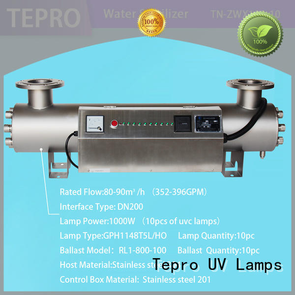 Tepro 12mm uv sterilizer aquarium manufacturer for pools