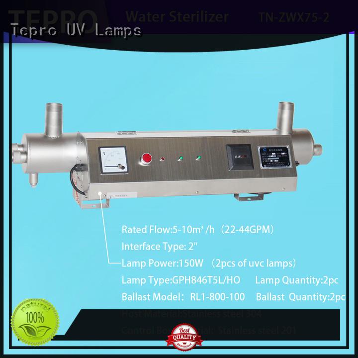 4 pins ultraviolet light water purifier manufacturer for pools