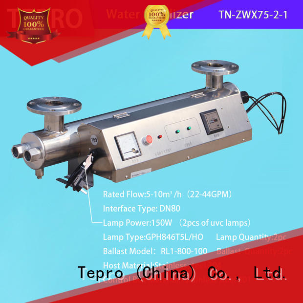Tepro best ro uv water purifier manufacturer for pools