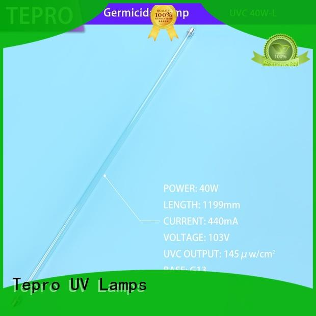 Tepro uv lamp tube manufacturer for printing