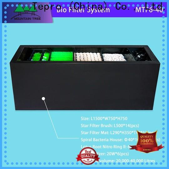 Tepro Best bio filter suppliers for well water
