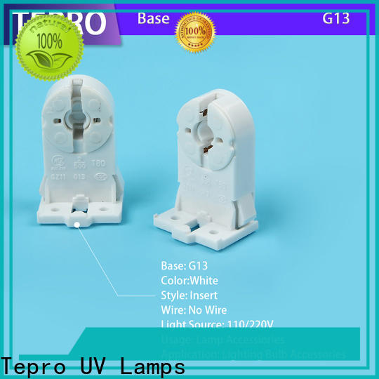 Tepro white light socket replacement supply for nails