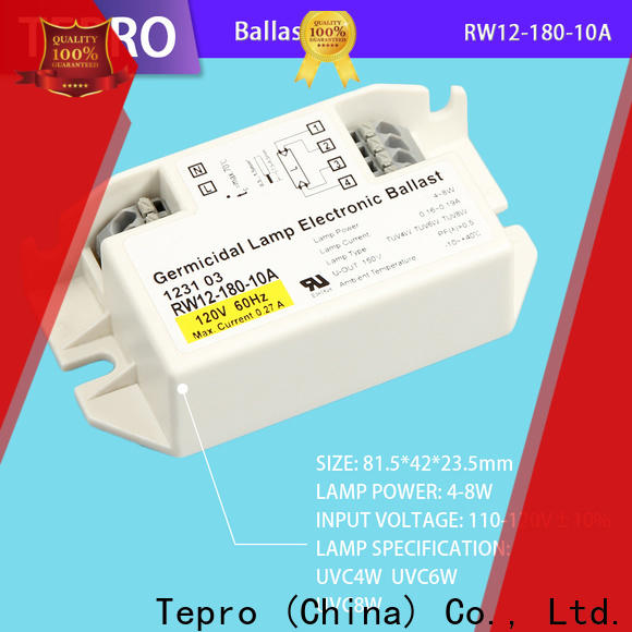 Tepro New uv lamp ballast for business for factory