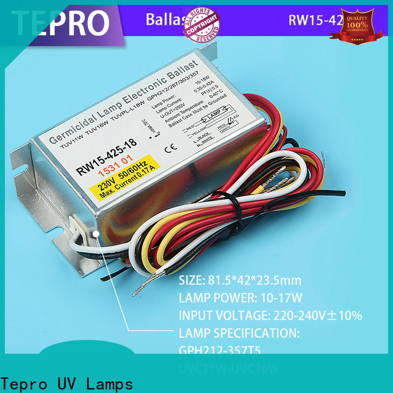 Tepro rw1218010a uv lamp ballast circuit suppliers for factory
