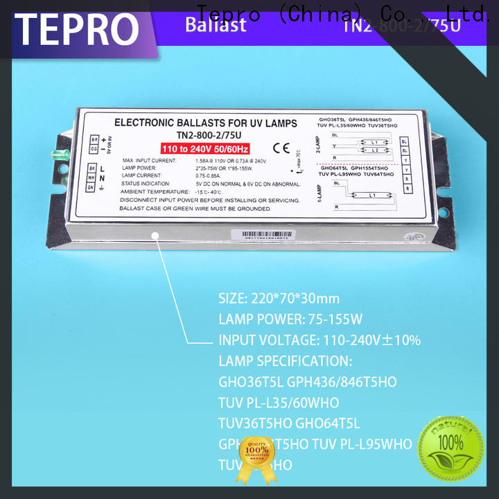 Tepro rl1142540 high pressure sodium ballast factory for laboratory