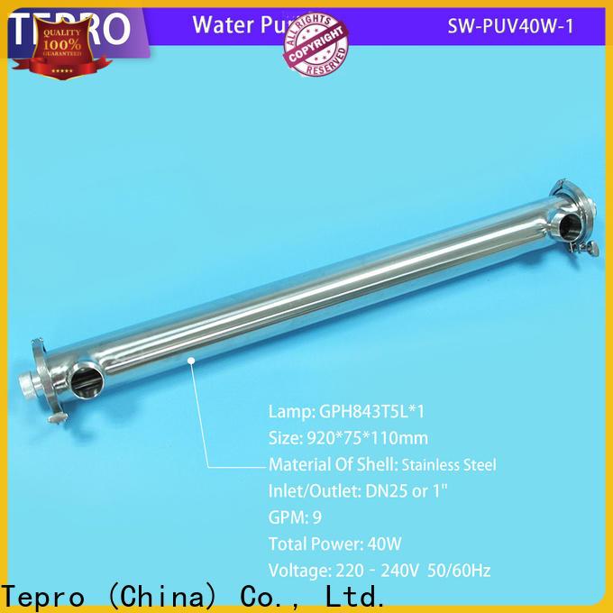 Tepro pvc uv water treatment company for pools