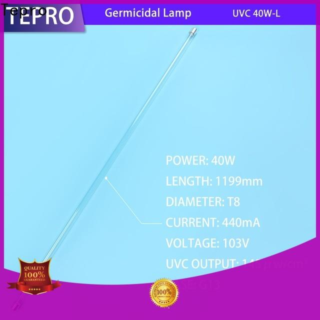 Tepro materialquartz small uv light manufacturers