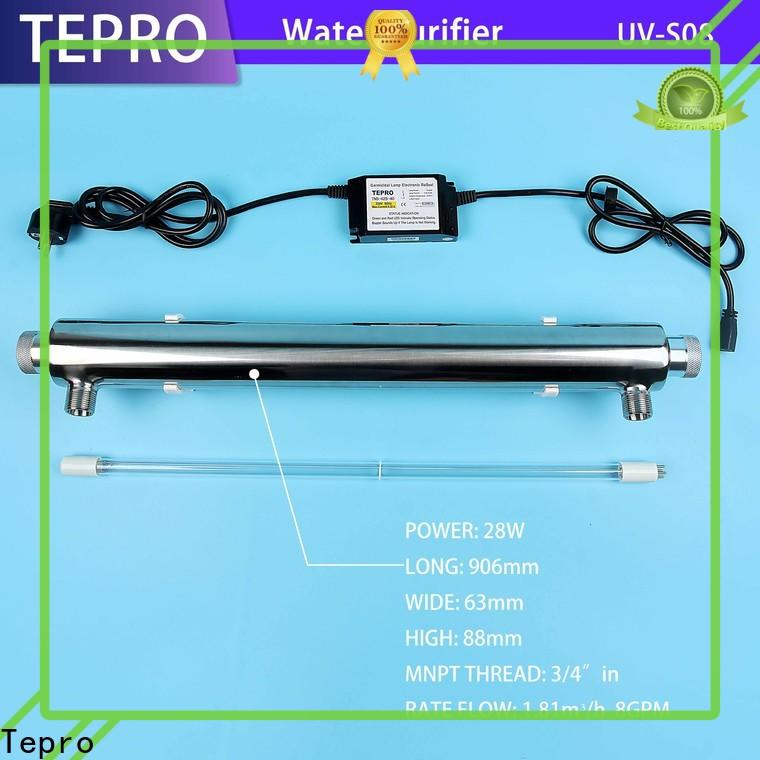 Tepro 24gpm uv water purifier for business for aquarium