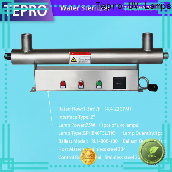 Tepro clean uv water bottle sterilizer company for pools