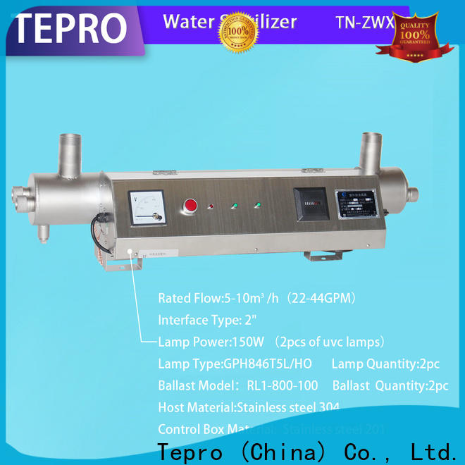 Tepro water uv led bulb suppliers for hospital