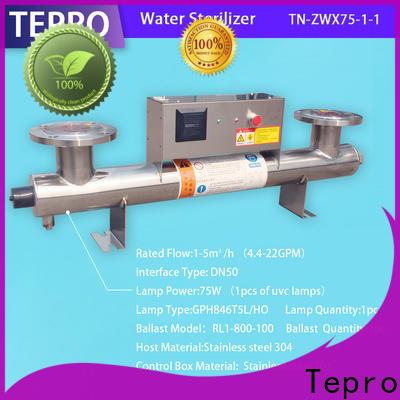 Tepro 15th best ro uv water purifier factory