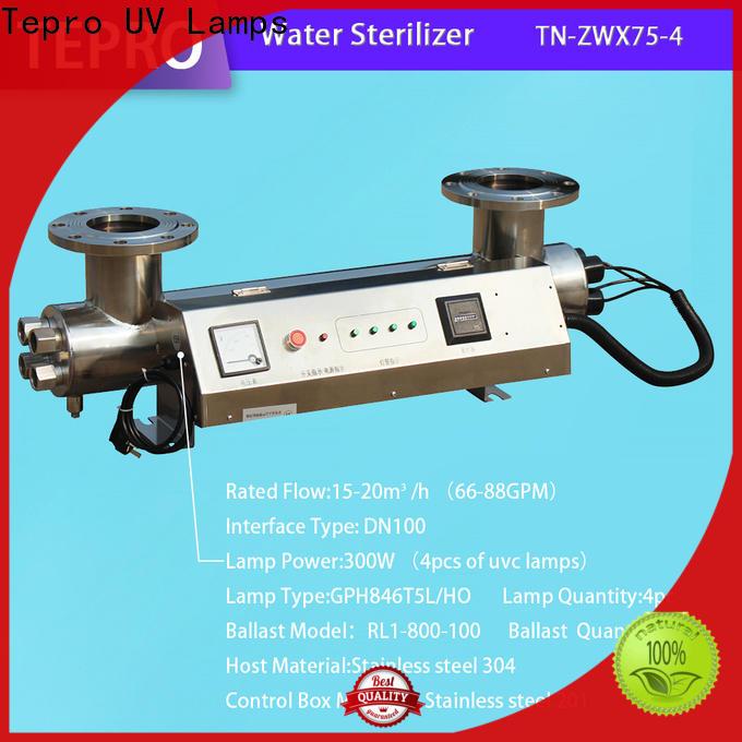 Tepro virus uv sterilizer water treatment company