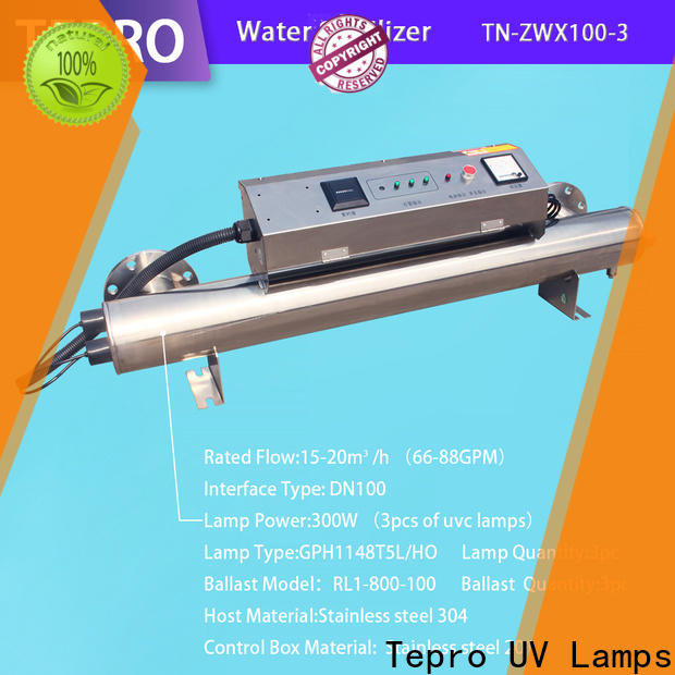 Tepro Best uv c light bulb supply for pools