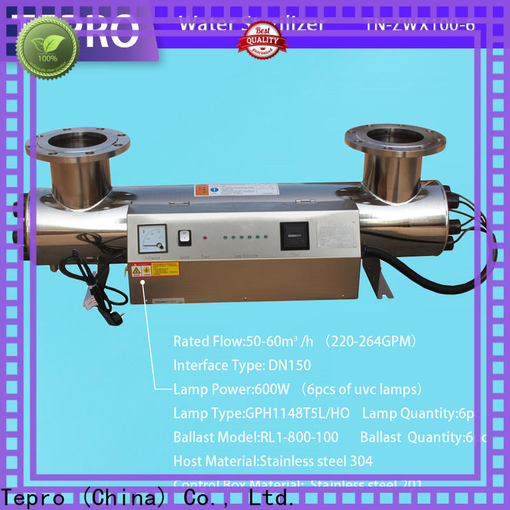 Tepro lamps wow water sterilizer suppliers for hospital