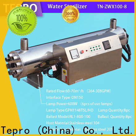 Tepro treatment aqua pond uv sterilizer suppliers for hospital