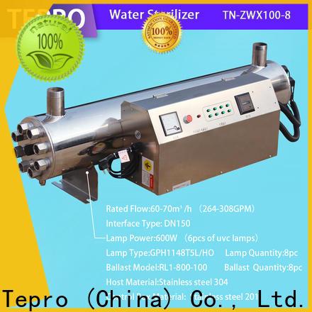 Tepro treatment aqua pond uv sterilizer suppliers for hospital