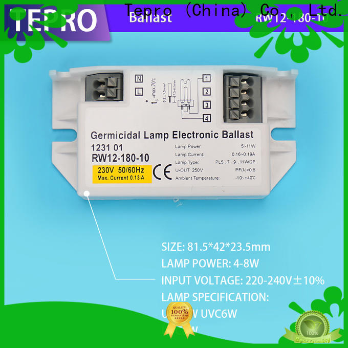 Tepro High-quality germicidal lamp electronic ballast factory for laboratory