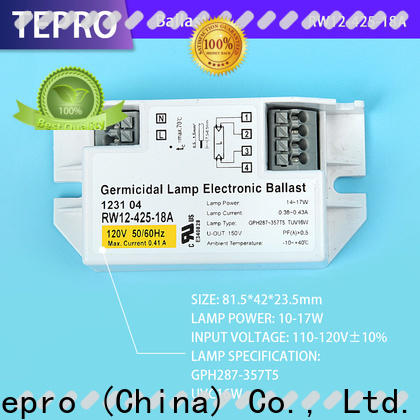 Tepro Latest fluorescent lamp ballast company for factory