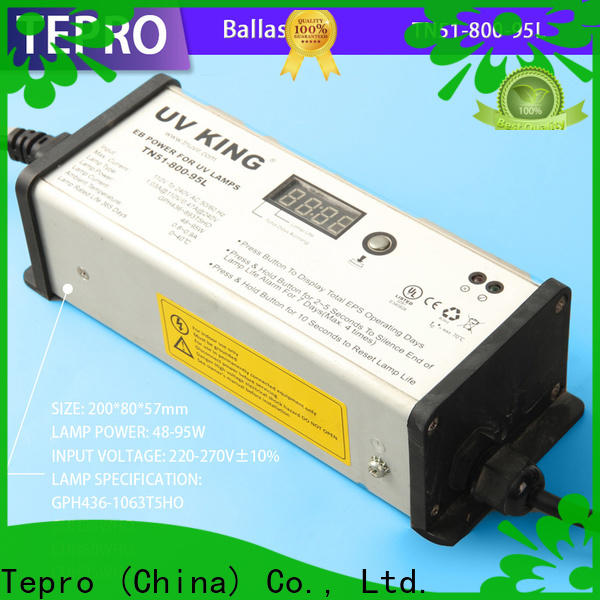 Tepro Custom electronic ballast for uv lamp factory for plants
