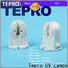 Tepro uvb lamp socket supply for pools