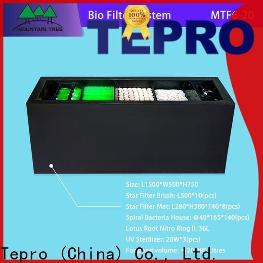Tepro tank pond filter manufacturers for pools