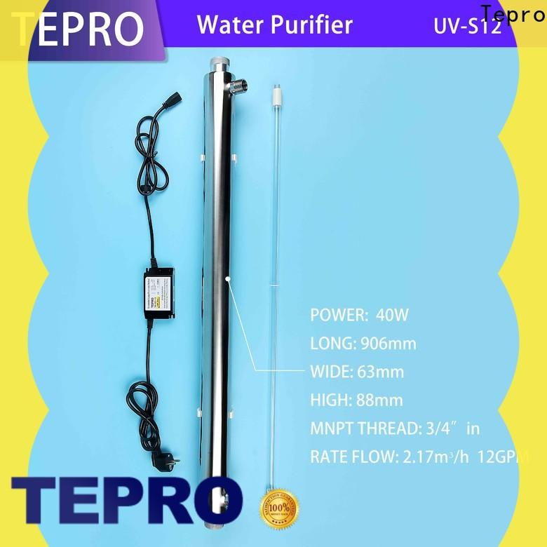 Tepro uvs01 clean water purifier price manufacturers for pools