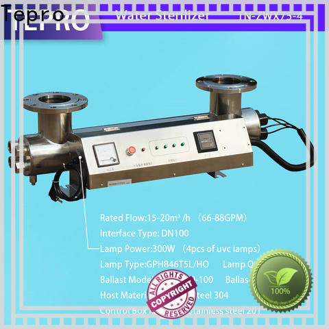 Tepro New uv lamps for sale company for pools