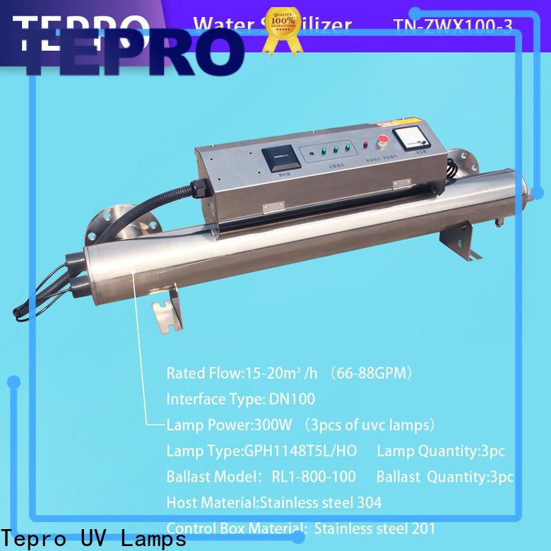 Tepro Custom ultra violet tube factory for hospital