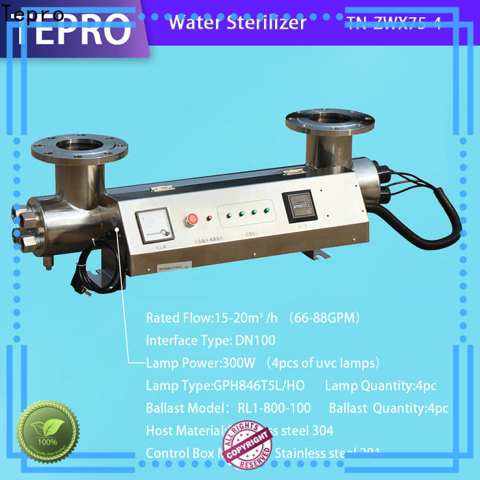 Tepro Best aqua pond uv sterilizer for business for aquarium