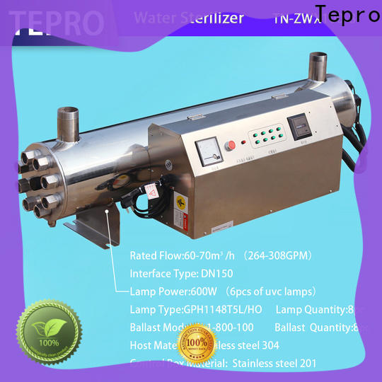 Custom uv sterilizer water treatment machine factory for hospital