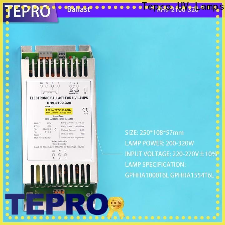 Tepro Custom uv ballast manufacturers for factory