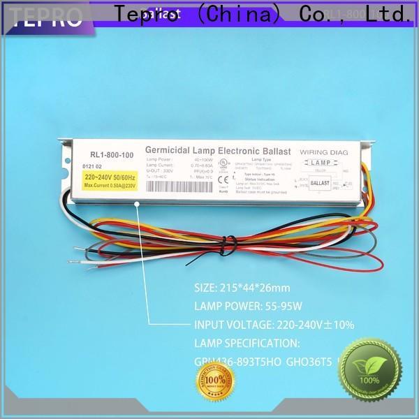 Tepro instant uv ballast company for factory