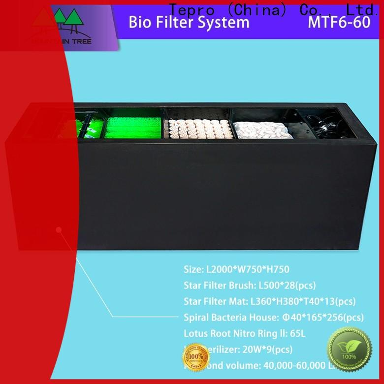 High-quality aquarium water filter tank suppliers for pools