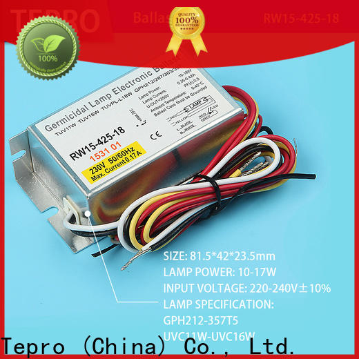 Tepro High-quality fluorescent lamp ballast factory for factory