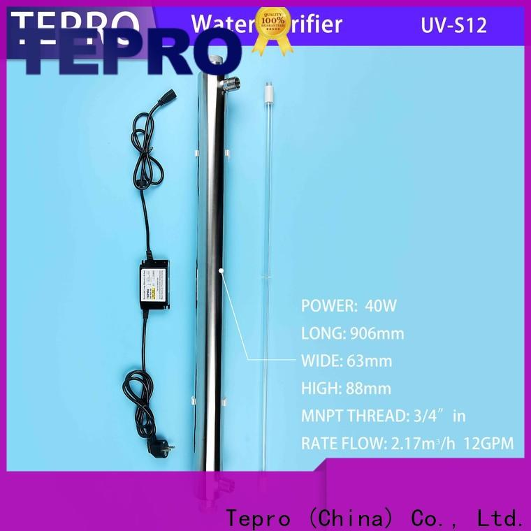 Tepro stainless under sink water purifier factory for pools