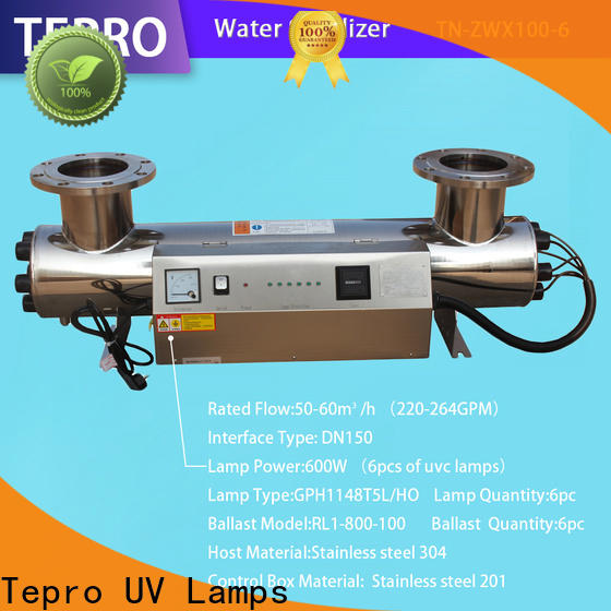 Tepro tnzwx10020 canister filter with uv sterilizer for business for aquarium