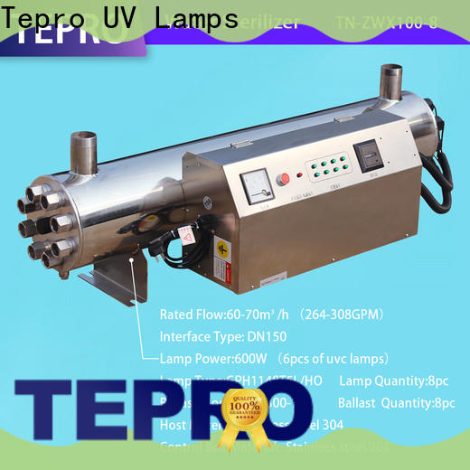 Tepro flow portable water sterilizer supply for reptiles