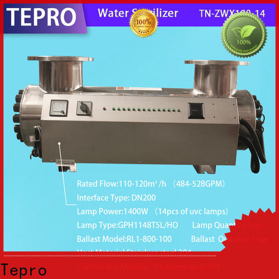 Custom ultraviolet water treatment system industrial manufacturers