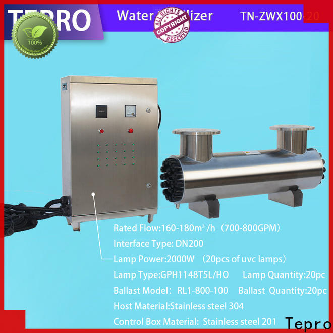 Tepro tnzwx1008 uv filter for well water suppliers