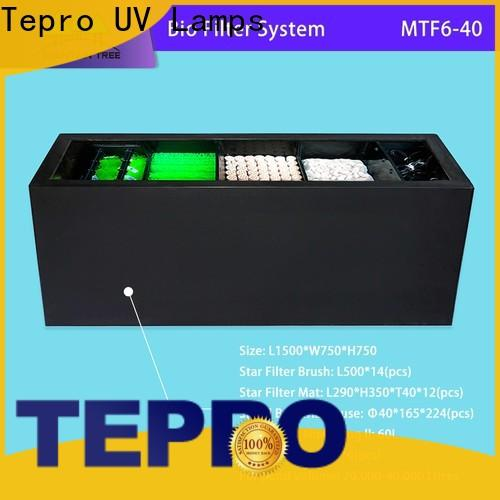 Tepro mtf660 biological pond filter company for fish tank