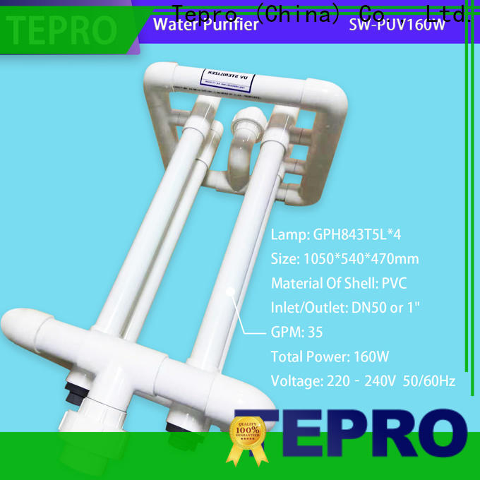 Tepro High-quality ultraviolet water purifier company for pools