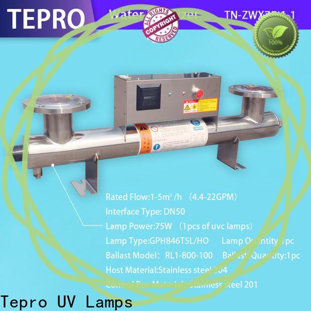 Tepro Custom ultraviolet filter manufacturers