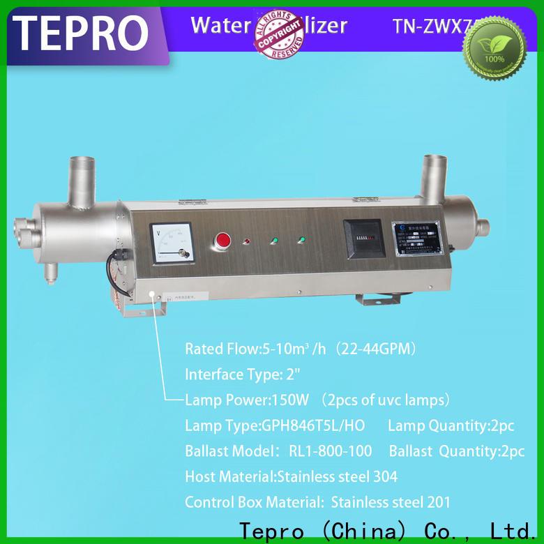 Tepro drinking house uv sterilizer company for pools