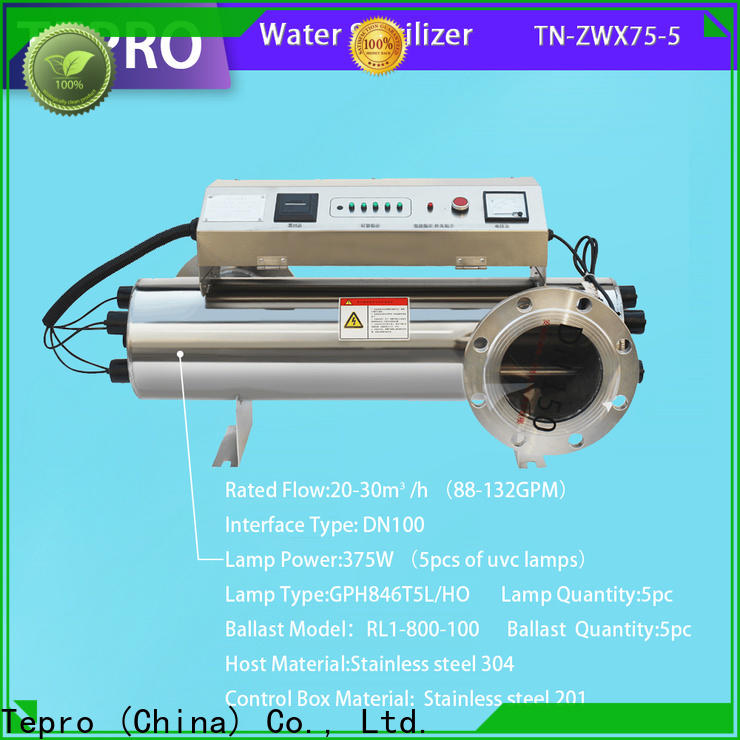 Tepro aquaculture residential uv water treatment system manufacturers